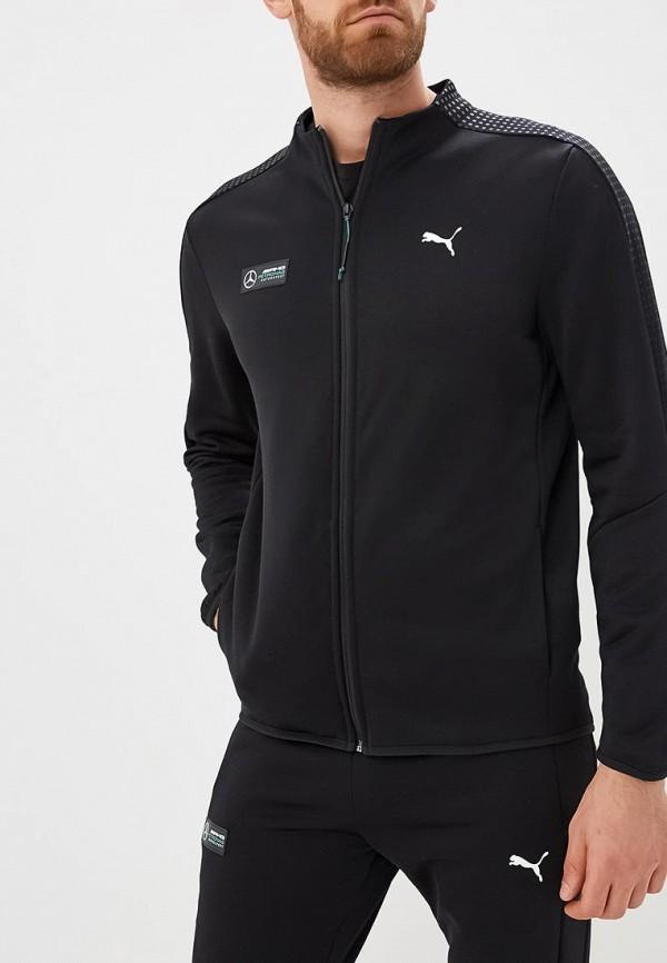 Купить Олимпийка PUMA, MAPM T7 Track Jacket, PU053EMCJJR2, черный, Осень-зима 2018/2019