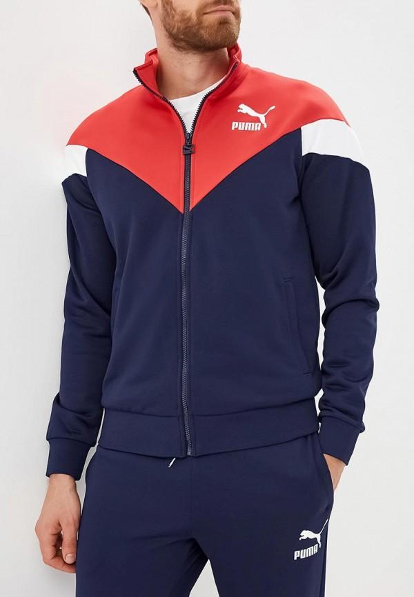 Купить Олимпийка PUMA, MCS Track Jacket, PU053EMCJJR4, синий, Осень-зима 2018/2019