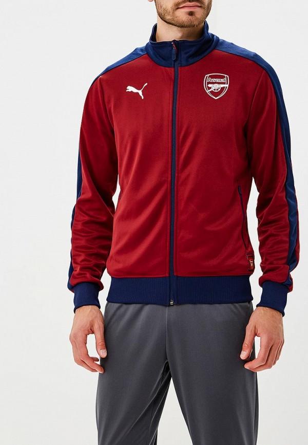 Купить Олимпийка PUMA, Arsenal FC Fan T7 Track Jacket, PU053EMCJJS2, бордовый, Осень-зима 2018/2019