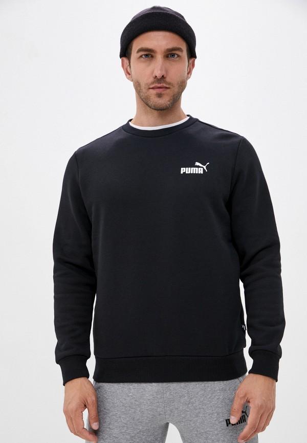 мужской свитшот puma, черный