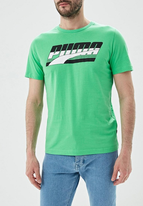 Футболка PUMA PUMA PU053EMDZPO7 футболка мужская puma style athletics graphic tee цвет серый зеленый 85002839 размер xl 50 52