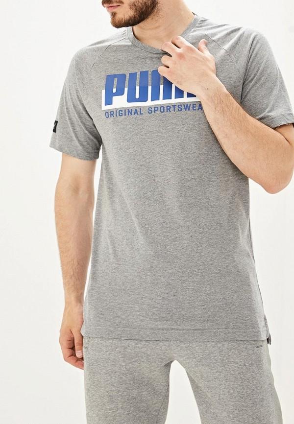 Футболка PUMA PUMA PU053EMDZPP3 футболка для мальчика puma ftblplay graphic shirt jr цвет серый черный 65594406 размер 116