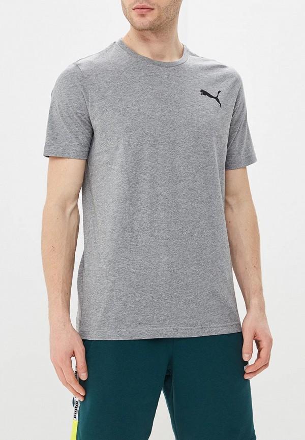 Футболка PUMA PUMA PU053EMDZRE4 футболка для мальчика puma ftblplay graphic shirt jr цвет серый черный 65594406 размер 116