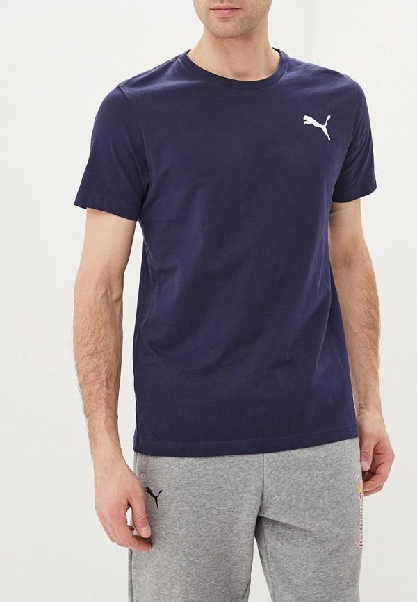 мужская спортивные футболка puma, синяя