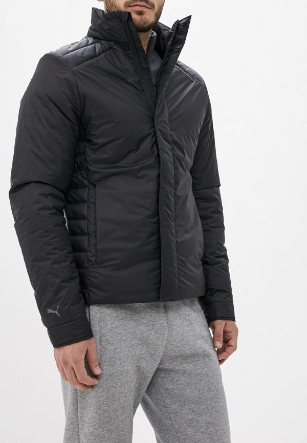 мужская куртка puma, черная