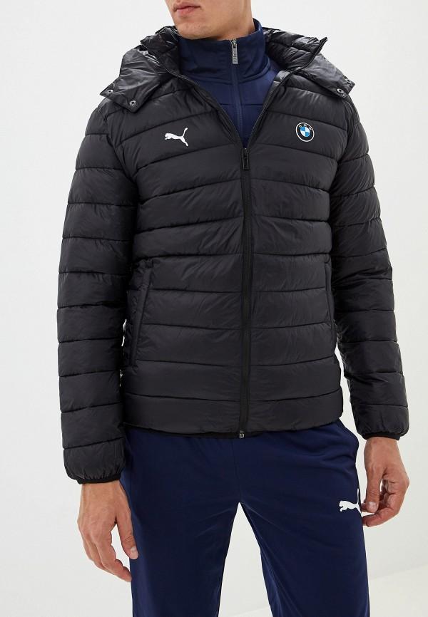 Купить Верхняя одежда, Куртка утепленная PUMA, BMW MMS Eco PackLite Jacket, pu053emfrib7, черный, Осень-зима 2019/2020