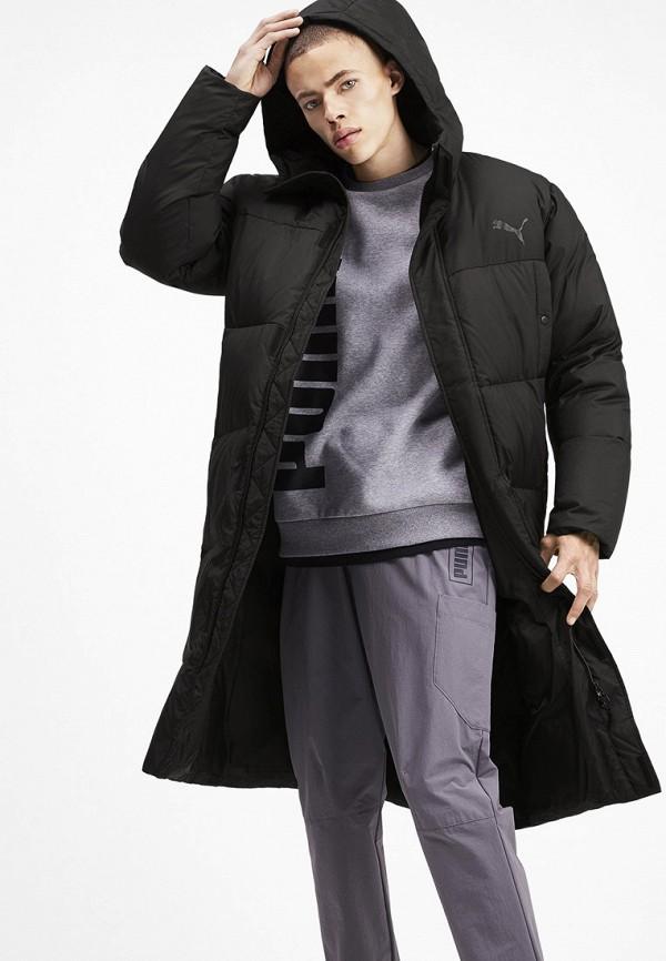 мужской пуховик puma, черный
