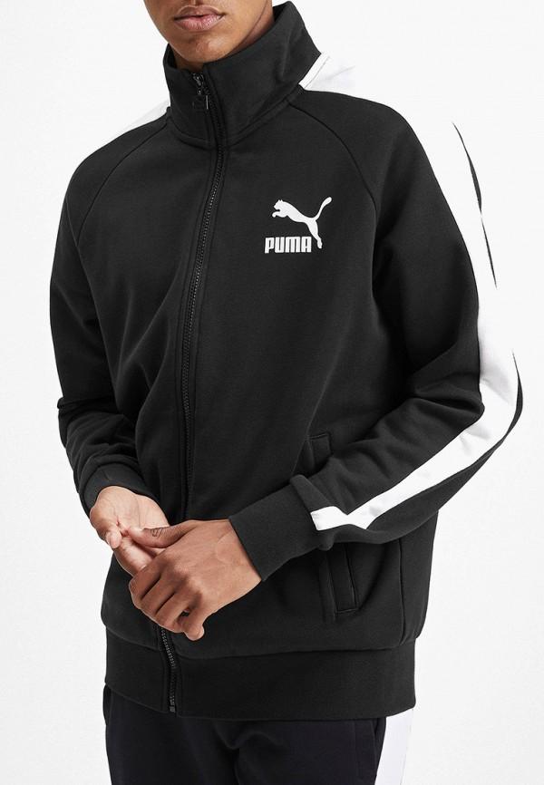 мужская олимпийка puma, черная