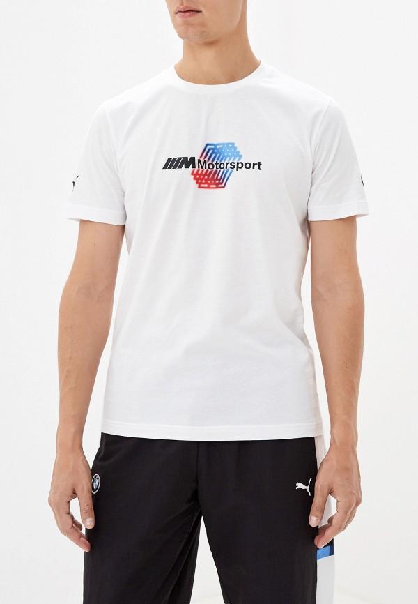 мужская футболка puma, белая