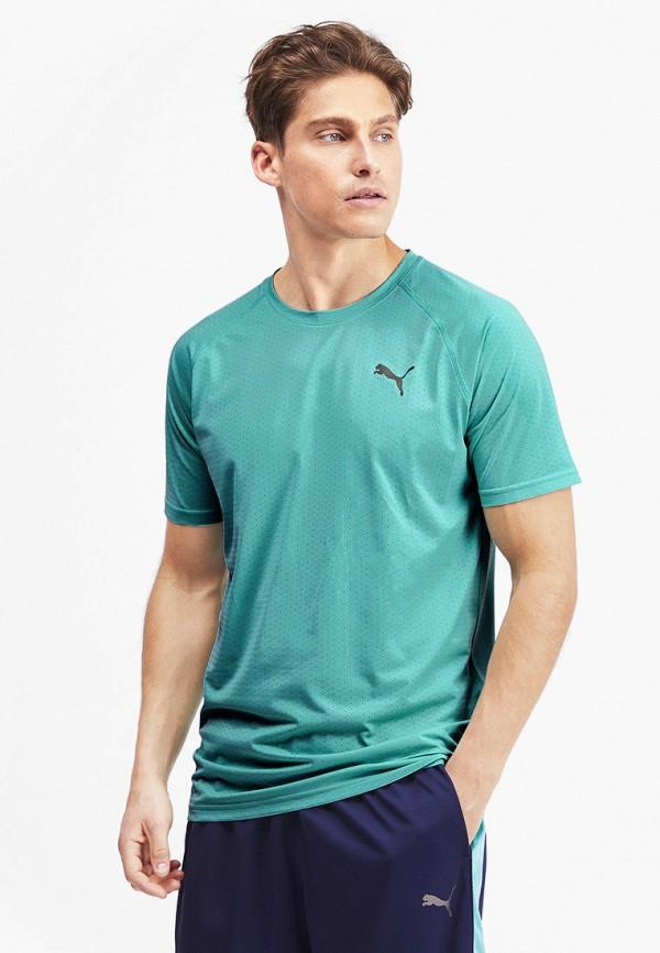 Футболка спортивная PUMA PUMA PU053EMFRIU1 футболка мужская puma style athletics graphic tee цвет серый зеленый 85002839 размер xl 50 52