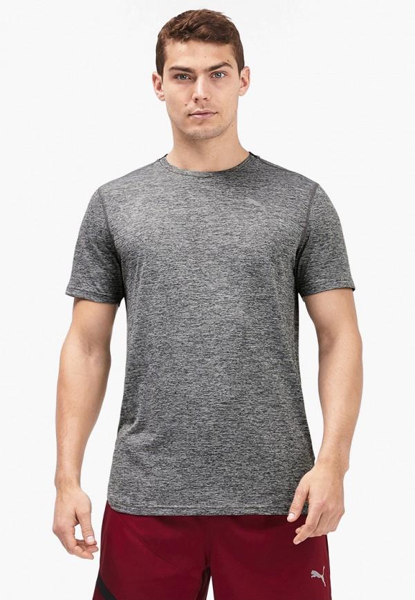 Футболка спортивная PUMA PUMA PU053EMFRIU5 футболка для мальчика puma ftblnxt graphic tee jr цвет черный темно серый 655758017 размер 164