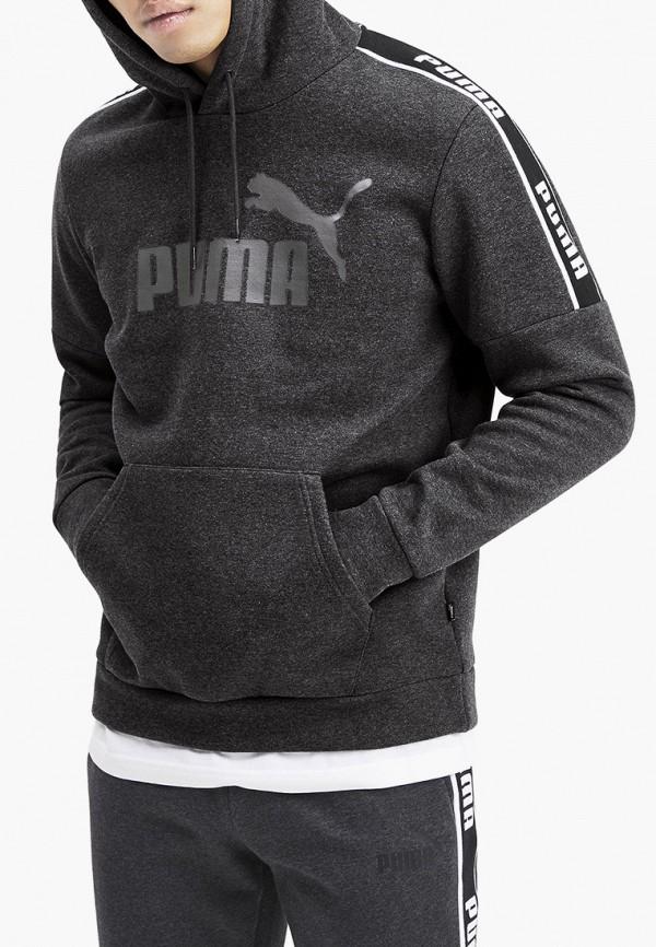 мужские худи puma, серые