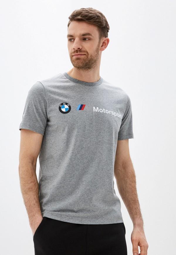 мужская спортивные футболка puma, серая