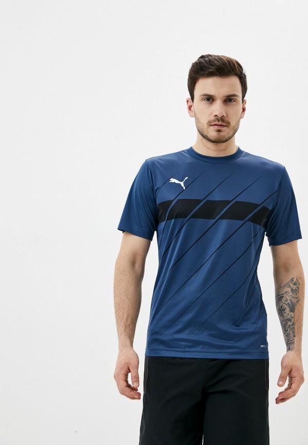 мужская футболка puma, синяя