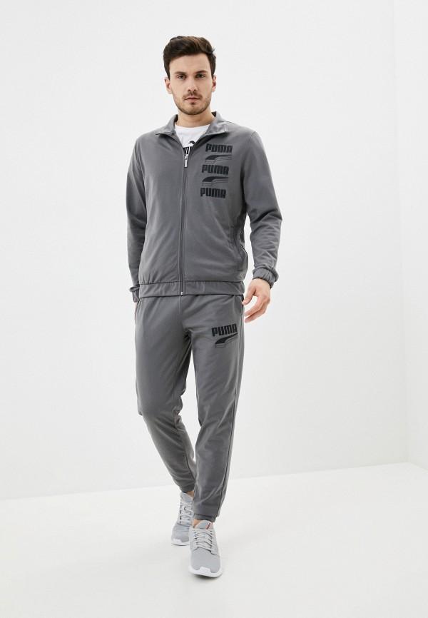мужской спортивный костюм puma, серый