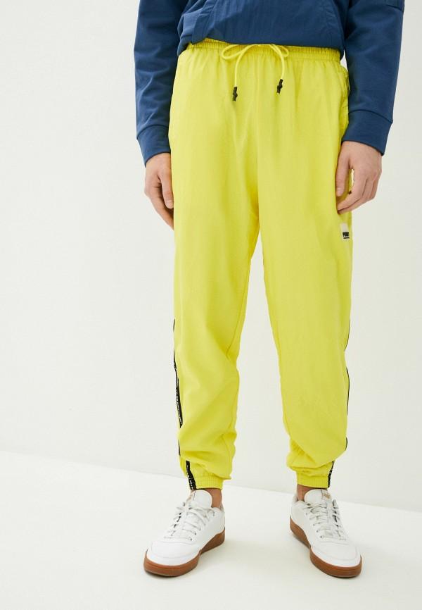 мужские спортивные брюки puma, желтые