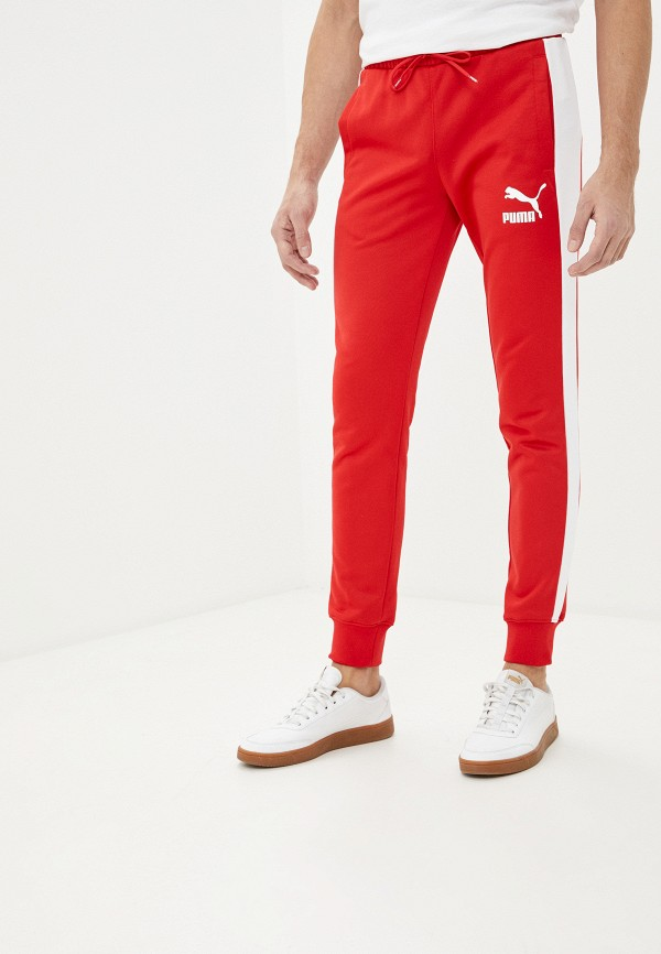 мужские спортивные брюки puma, красные