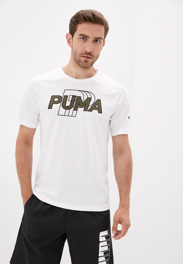 мужская спортивные футболка puma, белая