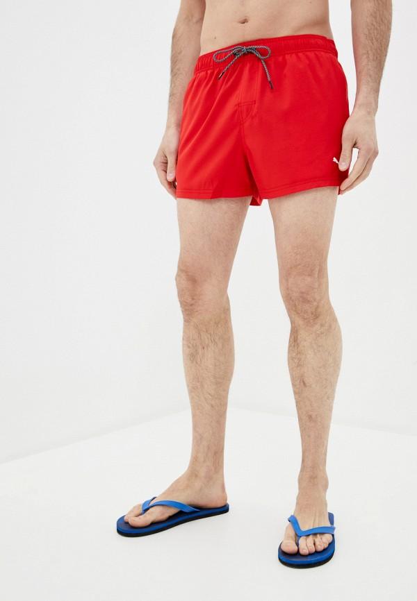 мужские спортивные шорты puma, красные