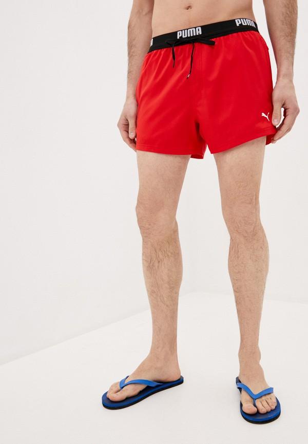 Шорты для плавания PUMA красного цвета