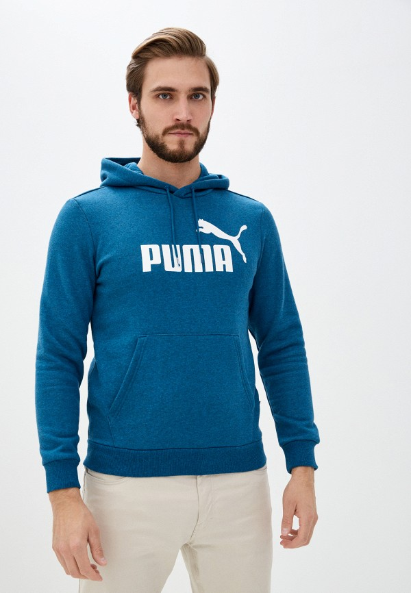 мужские худи puma, бирюзовые