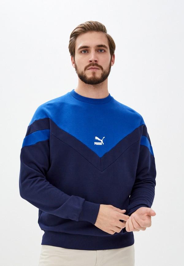 мужской свитшот puma, синий