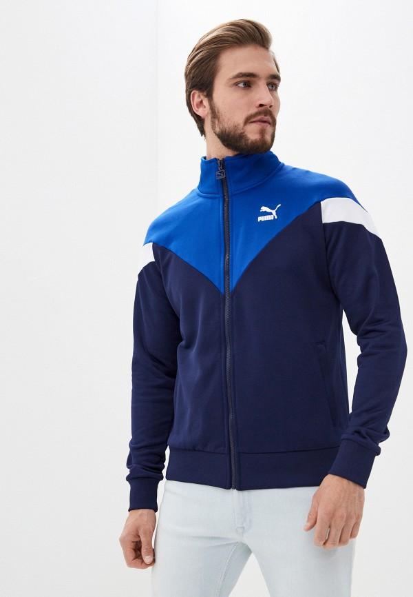 мужская олимпийка puma, синяя