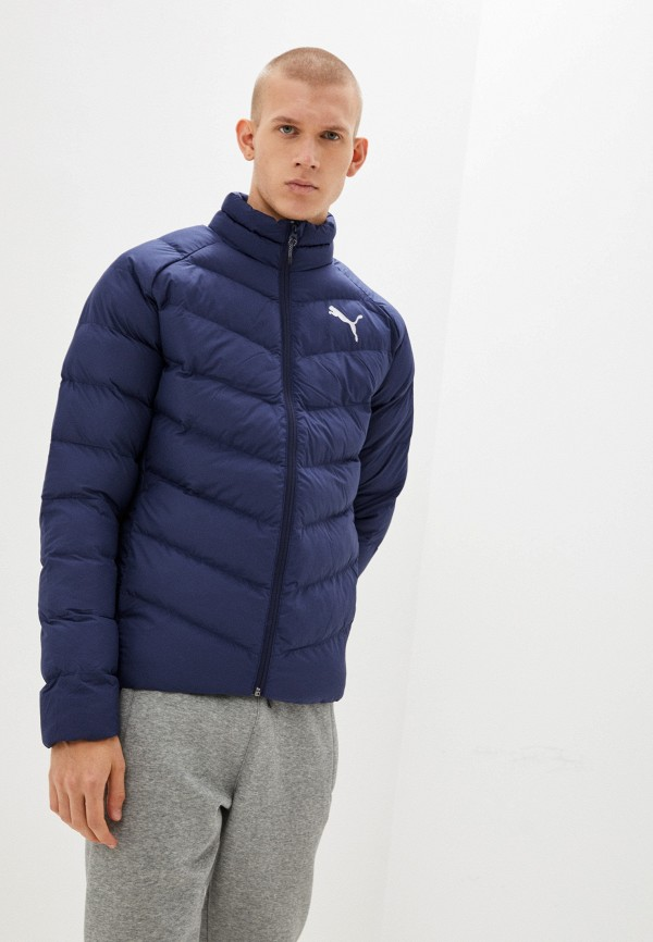 мужская куртка puma, синяя