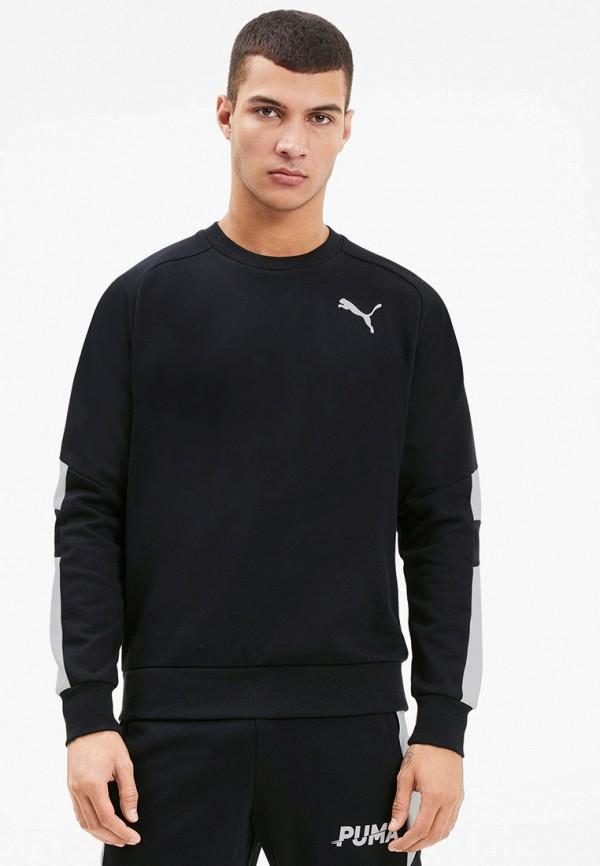 мужской спортивные свитшот puma, черный