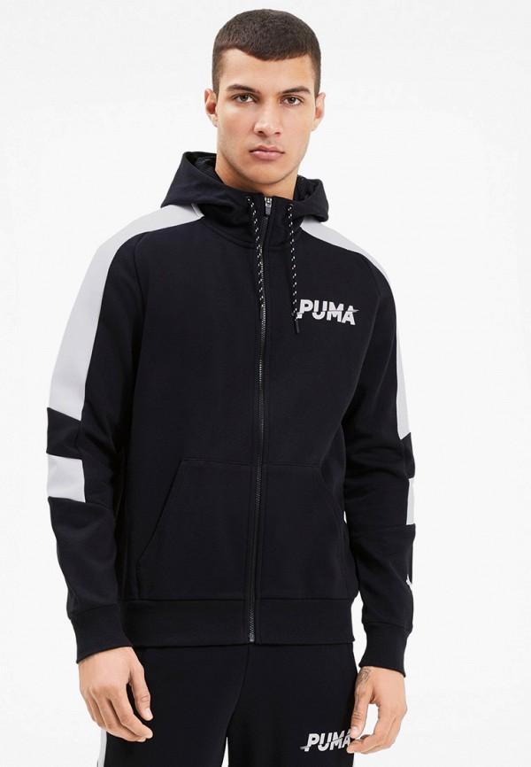 мужская спортивные толстовка puma, черная