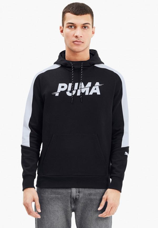 мужские худи puma, черные