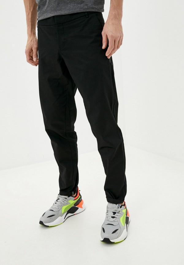 мужские повседневные брюки puma, черные