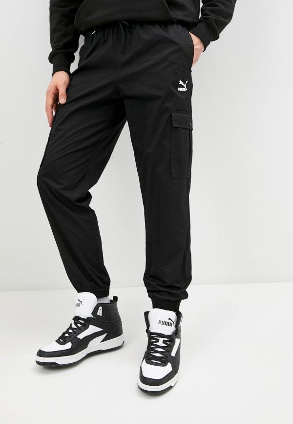 мужские брюки puma, черные