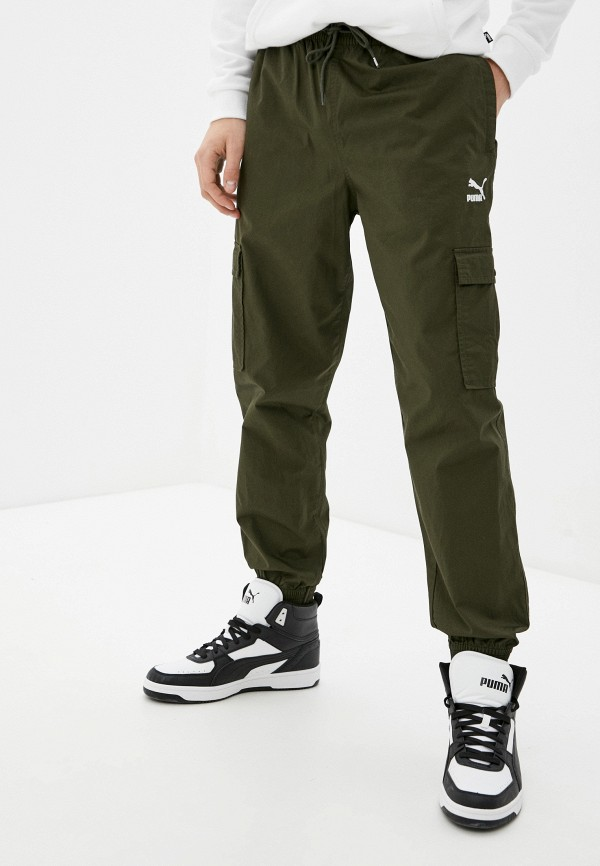 мужские брюки puma, хаки