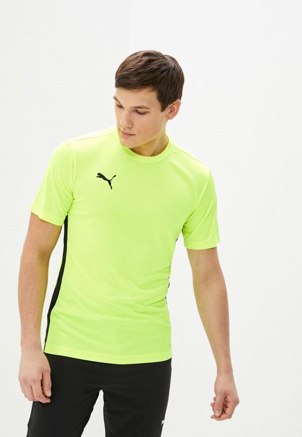 мужская спортивные футболка puma, желтая