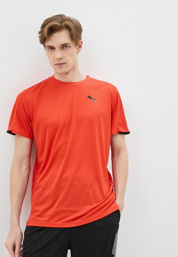мужская спортивные футболка puma, красная