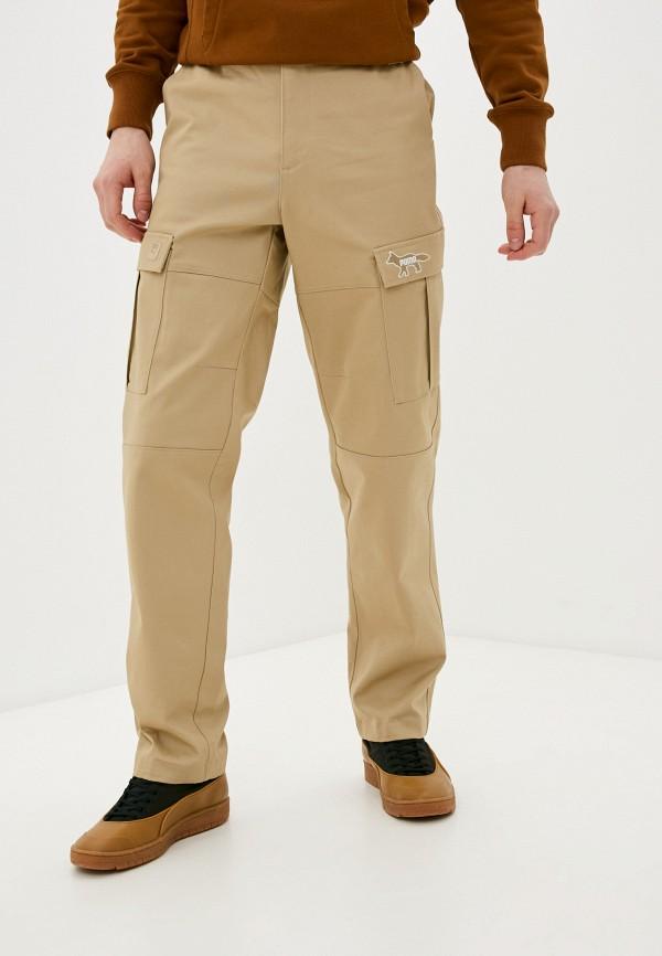 мужские брюки puma, бежевые