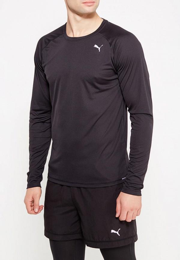 Купить Лонгслив спортивный PUMA, Core-Run L S Tee, PU053EMUTK30, черный, Весна-лето 2018