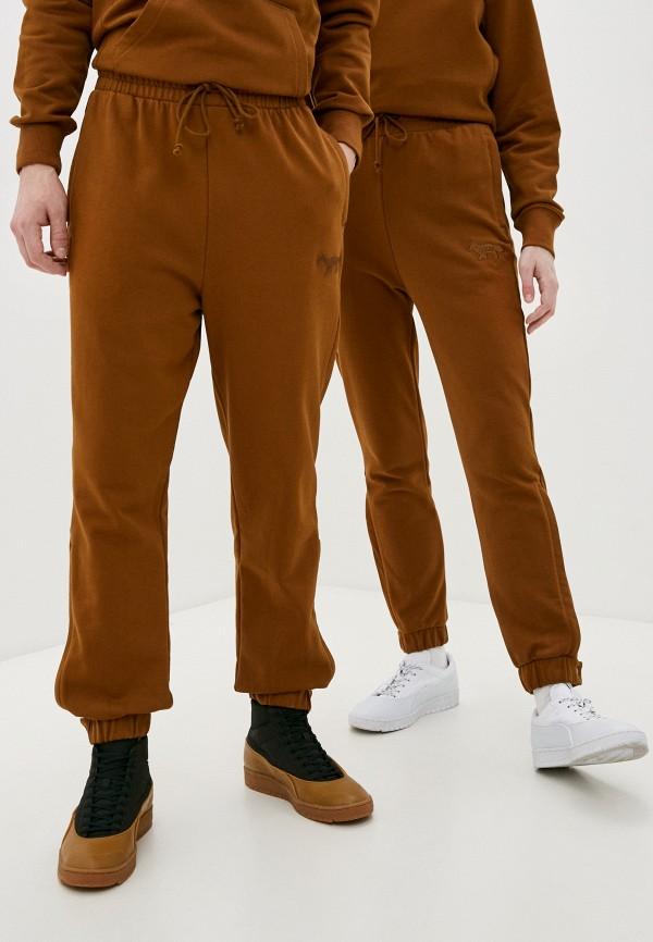 женские спортивные брюки puma, коричневые