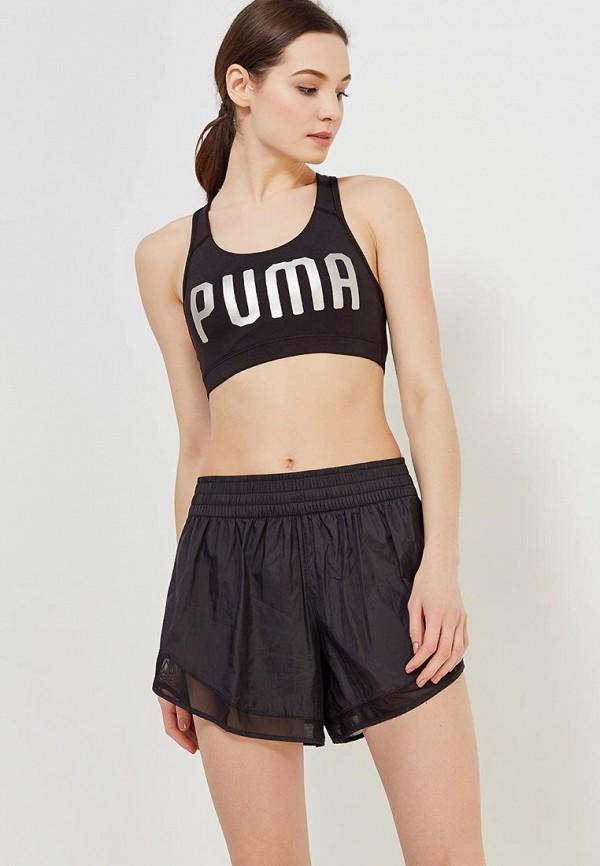 Купить Топ спортивный PUMA, PWRSHAPE Forever - Logo, PU053EWAMUP8, черный, Весна-лето 2018