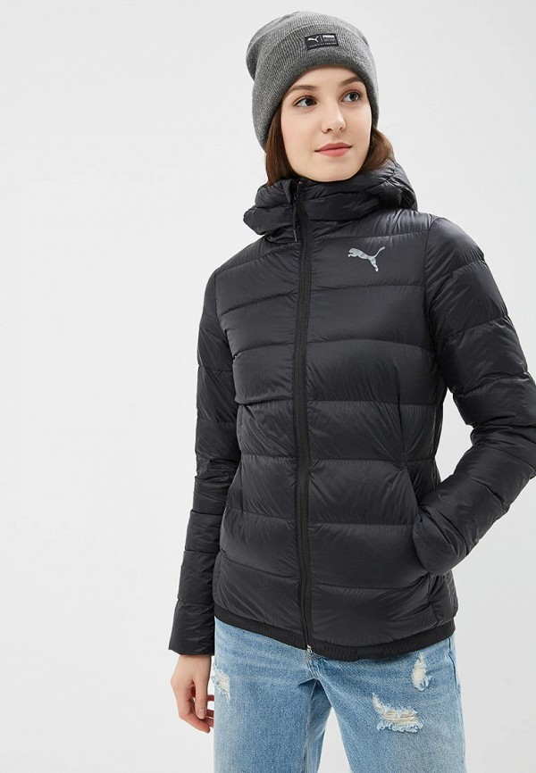 Пуховик PUMA PUMA PU053EWCJMF7 пуховик мужской puma ferrari down jacket цвет черный 57667402 размер s 44 46