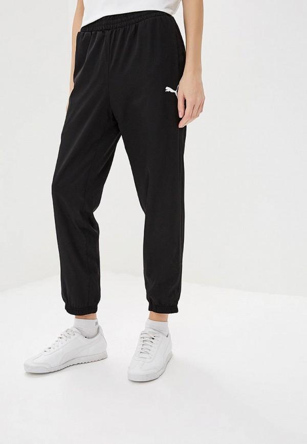 женские спортивные спортивные брюки puma, черные