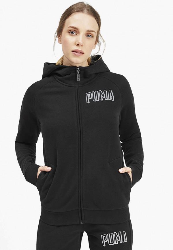 женская толстовка puma, черная