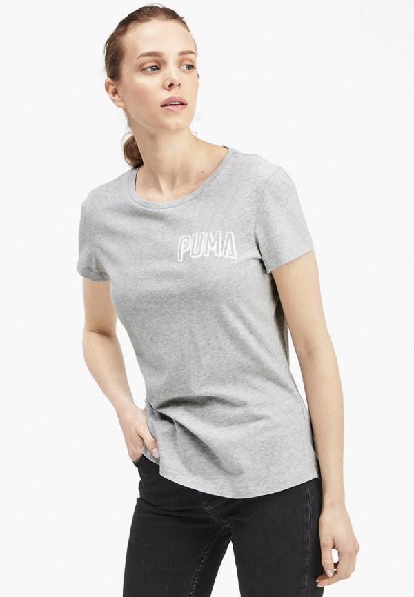 Футболка PUMA PUMA PU053EWFRKB8 футболка для мальчика puma ftblnxt graphic tee jr цвет черный темно серый 655758017 размер 164