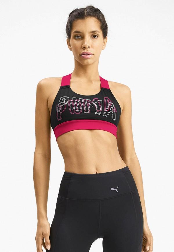 Топ спортивный PUMA PUMA PU053EWFXUC2 топ женский puma active ess banded crop top цвет черный 59358001 размер xl 48 50