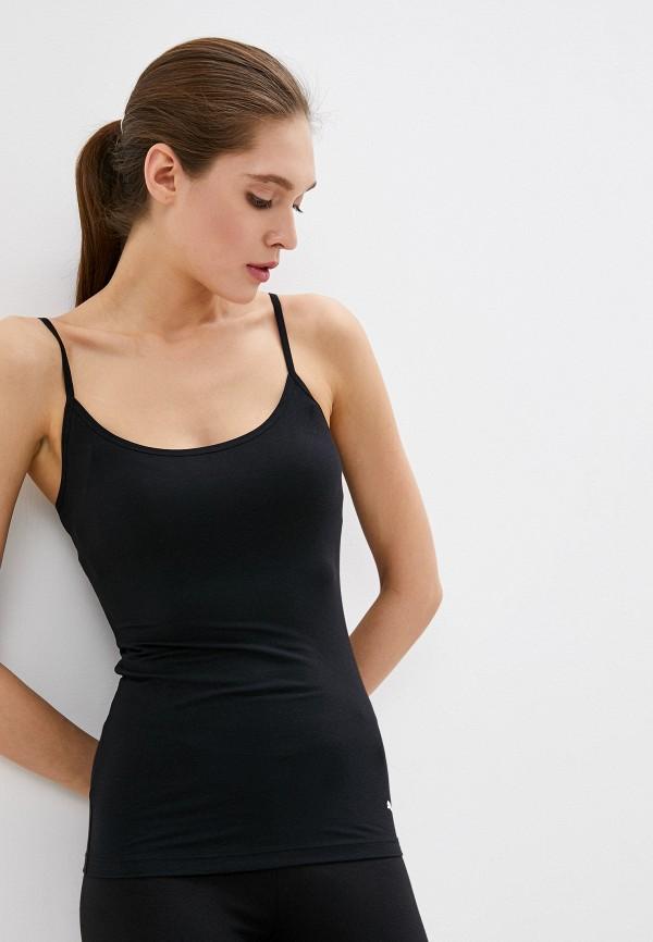 женский спортивный костюм puma, черный