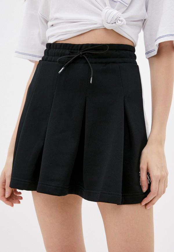 женская спортивные юбка puma, черная