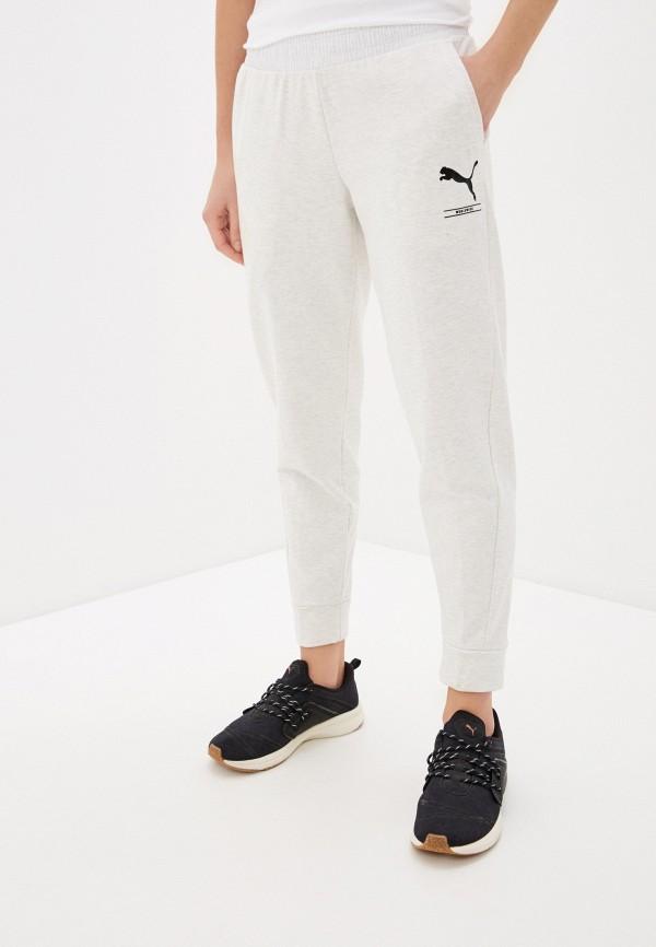 женские спортивные брюки puma, белые