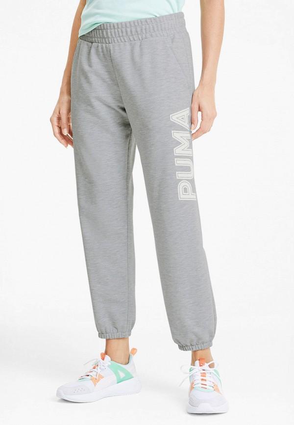 женские спортивные брюки puma, серые