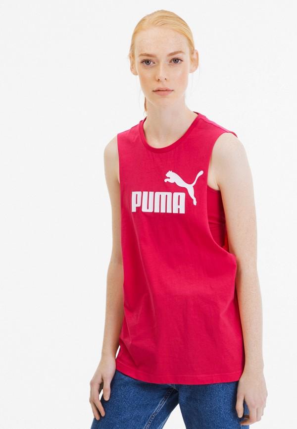 женская спортивные майка puma, красная